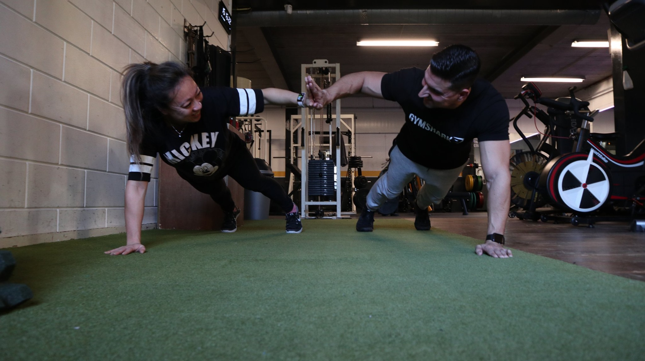 compound gym duo workout