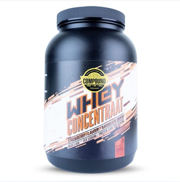 compound whey aardbei
